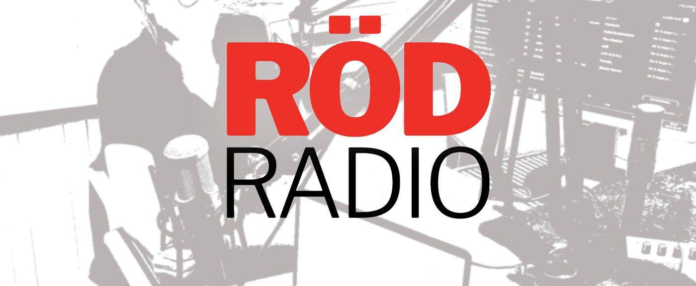 Logotyp Röd Radio Podcast